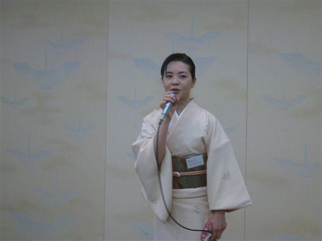 さくら会代表幹事 松永玲子さん