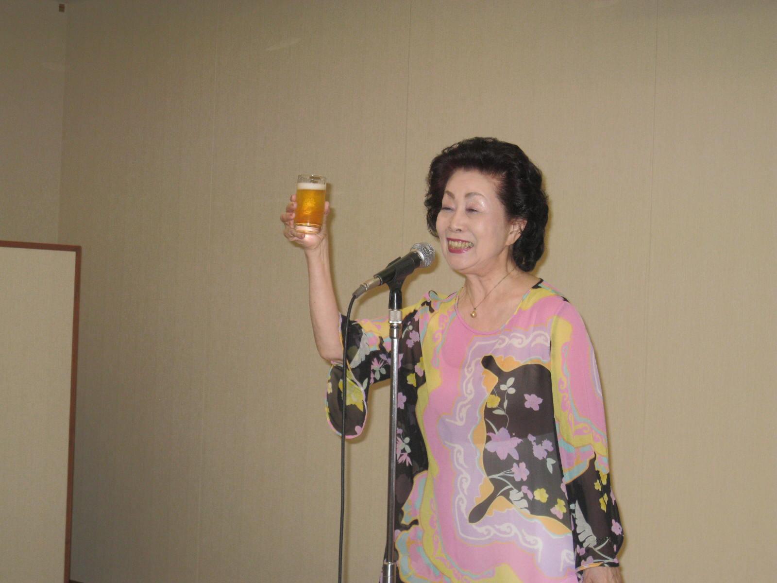 乾杯 絹川さん(K8)