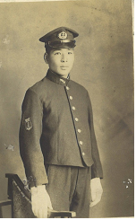 鹿児島航空隊に予科連として入隊